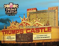 New Jersey - Atlantic City - TRUMP CASTLE - Flexible Fridge MAGNET
