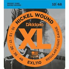 D'Addario EXL110 XL Electric Guitar Strings Regular Light 10-46