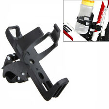 "2"" Bicycle Motorcycle Beverage Water Bottle Drink Cup Holder Quick Release Black"