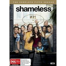 SHAMELESS-Season 5-Region 4-New AND Sealed-3 Discs Set-TV Series