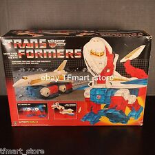 Original Vintage Transformers G1 Sky Lynx Shuttle w/ Box - Electronics Works!