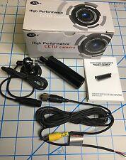 KT&C KPC EJ230NUWX Mini Bullet SECURITY CAMERA 750 TVL Sony Effio OSD 960H 3.6mm