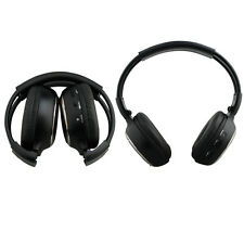 Couple of Wireless IR Headphones for Car DVD Headrest Overhead Monitor Player
