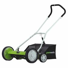 Greenworks 20-Inch Push Reel Lawn Mower - 25072