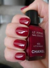 Vernis Chanel 455 Lotus Rouge