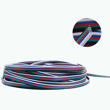 WOW - 10M 5-Pin 5050 RGBW LED Strip Light Wire Cord Extension Cable 5 Colour