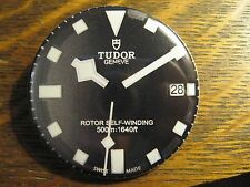 Tudor Geneva Rotor Self-Winding Black Watch Advertisement Pocket Lipstick Mirror