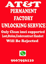 HTC One V UNLOCK CODE ATT AT&T ONLY OUT OF CONTRACT FACTORY UNLOCK