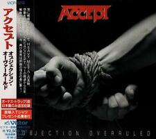 ACCEPT Objection Overruled+1 FIRST PRESS JAPAN CD OBI VICP-5210 U.D.O.