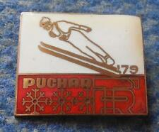FIS BESKIDY CUP SKI JUMPING NORDIC COMBINED POLAND SZCZYRK 1979 PIN BADGE