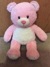 Build-A-Bear Pink Celebearation Celebration Happy Birthday Cake Sprinkles RARE
