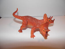 Vintage Very Rare Monster-Dinosaur-Two Headed Triceratops made in Hong Kong