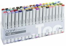 COPIC SKETCH PENS 72 SET D  - MANGA GRAPHIC ARTS + CRAFT - FAST SHIPPING