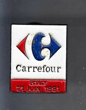 RARE PINS PIN'S .. HYPERMARCHE CARREFOUR ECULLY 69 JUIN 1991 ~B1