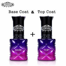 8ml Soak off Gel Nail Polish Top and Base Coat Nail Art Lacquer UV Led Manicure