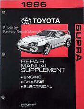 1996 Toyota Supra Factory Service Manual Supplement - Original Shop Repair