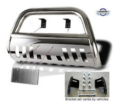 FIT 98-04 Nissan Frontier / 00-04 Nissan Xterra Push Bull Bar In Stainless Steel