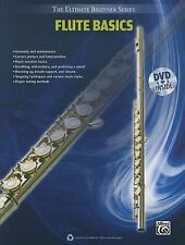 Ultimate Beginner Series Flute Basics (Book & DVD), Staff, Alfred Publishing, Ne