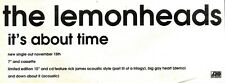 13/11/93PGN49 THE LEMONHEADS : IT'S ABOUT TIME SINGLE ADVERT 4X11""