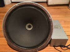 "VINTAGE TANNOY 12"" SILVER SPEAKER  WITH LSU/HF/12/L CROSSOVER"