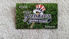 "2009 ""Staten Island"" Yankees pocket schedule"