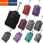 EasyJet & Ryanair Trolley Cabin Hand Luggage Carry On Suitcase Bag Fits 56x45x25