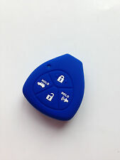 Blue Fob Key Cover Protector for Toyota Avalon Corolla Matrix RAV4 Venza Yaris