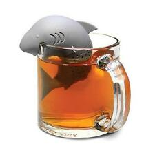 Silicone Shark Shape Diffuser Infuser Loose Tea Leaf Strainer Home Kitchen Tool