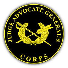 Judge Advocate General's Seal USA Car Bumper Sticker Decal 5'' x 5''