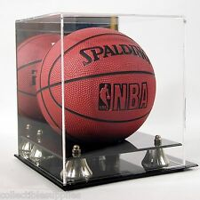 MINI NBA BASKETBALL DELUXE ACRYLIC DISPLAY CASE