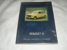 """renault 4 , collection """"votre  voiture"""",editions pratiques automobiles , 1975"""