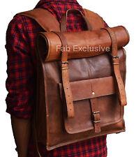 Sac à dos en cuir Sac à dos pour homme et femme  messenger bag Sac de voyage