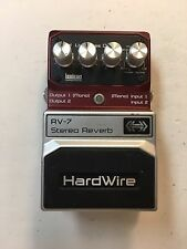 Digitech RV-7 Hardwire Stereo Digital Lexicon Reverb 7-Modes Guitar Effect Pedal