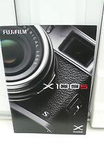 2013 Fujifilm x100s x FUJI FOTOCAMERA prospetto Photo apparato catalogo camera brochure