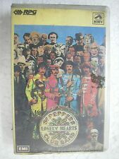 THE BEATLES SGT PEPPERS LONELY HEART RARE CLAMSHELL CASSETTE TAPE INDIA 1993