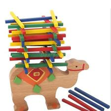 Kids Educational Toys Camel Wooden Balance Game Montessori Blocks Toys Gift