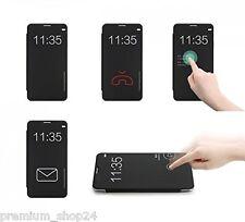 ROCK DR.V LIBRERIA Custodia a Libro Per HTC ONE M9 CHIAMATA Touch senza aperto
