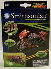 SPORT BIKE REAL DRIVING ACTION SMITHSONIAN MOTORIZED 3D PUZZLE RARE NEW