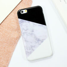 New Glossy Crystal Pattern Marble Soft Gel Case Cover for iPhone 6 6S Plus