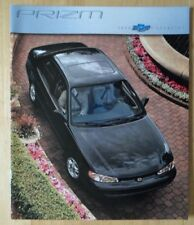 CHEVROLET Prizm 2000 USA inchiostri LUCIDO BROCHURE catalog-BERLINA & LSI