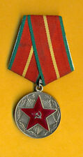 RUSSIA RUSSLAND MEDAL 20 years Military Service Order 606
