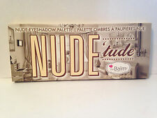 THEBALM THE BALM NUDE TUDE EYESHADOW PALETTE & BRUSH - FULL SIZE