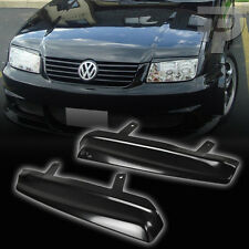VOLKSWAGEN VW JEETA 4 BORA HEADLIGHT LAMP COVER EYEBROWS EYELIDS 99 02 04 ▼