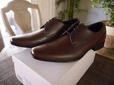 Calvin Klein CK Brodie Lace Leather dress shoe