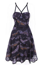 2XL Silence of the Lambs Steampunk Gothic Death Heads Hawk Moth Dress plus size