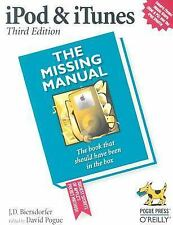 iPod and iTunes: The Missing Manual Biersdorfer, J. D. Paperback