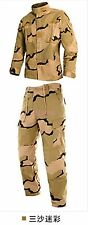 Mens Camouflage Army Outdoor Suits Coats Jacket&Pant Military Cotton Clothes Hot