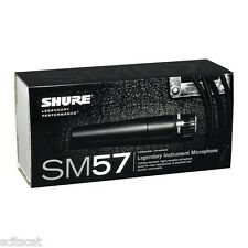 New Shure SM57-LC SM57 Instrument Microphone Unidirectional Cardioid Dynamic Mic