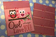 *Owl Always Love You* Front/Back Cover Set for use w/ Erin Condren Life Planner