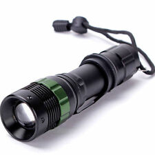 3000 Lumen Zoomabile CREE xm-lq5 torcia LED Torcia Luce Zoom Super Luminosi